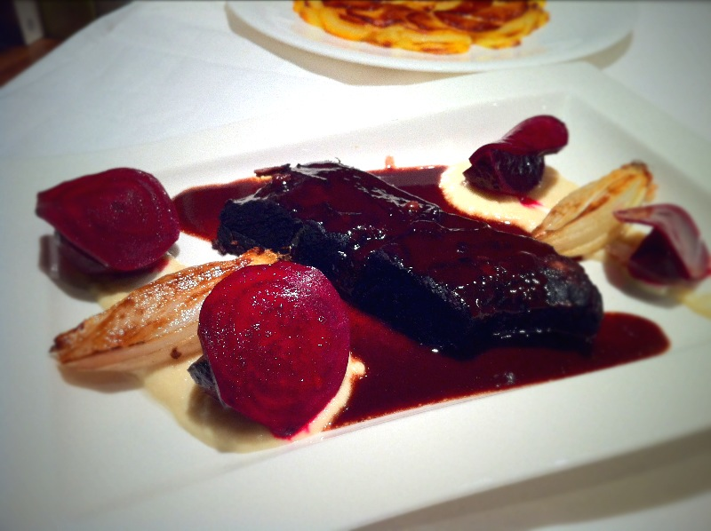Beef Short Ribs, Pommes Anna, Pickled Beetroot|Fine Dining at Home