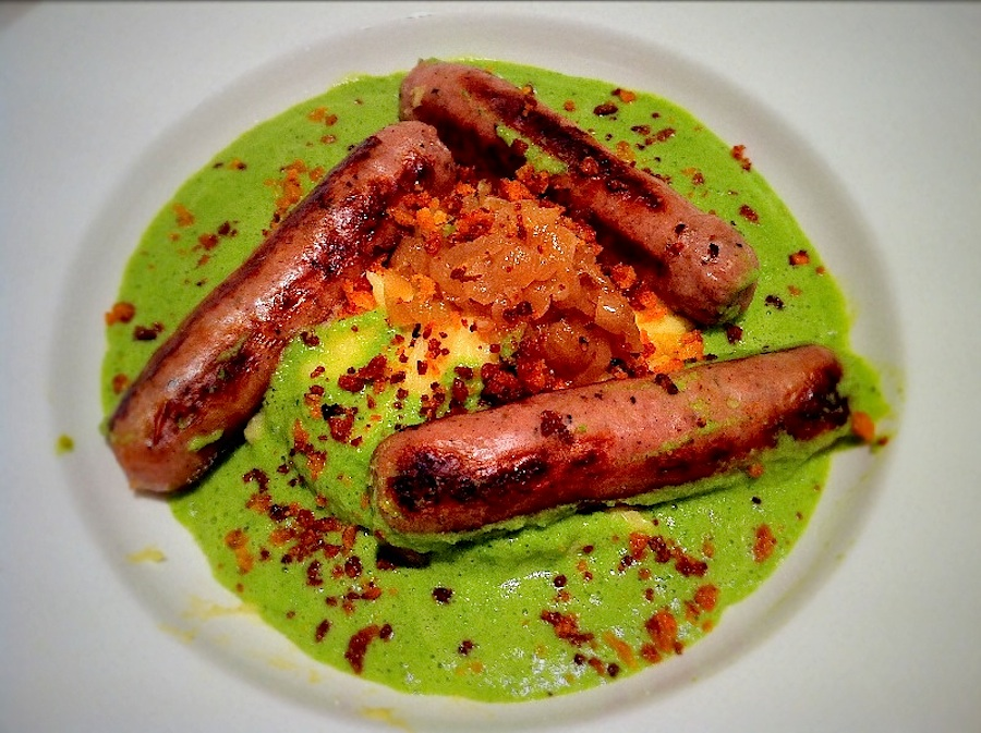 Sausage and Mash|Fine Dining at Home