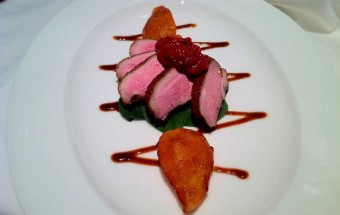 Tea Smoked Duck, Caramelised Pears and Tomato Jam|Fine Dining at Home