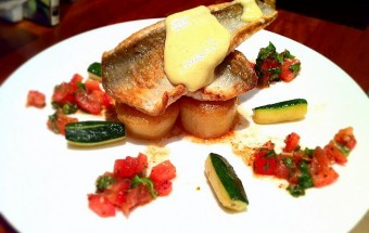 Gurnard and Lemon Sabayon|Fine dining at home.