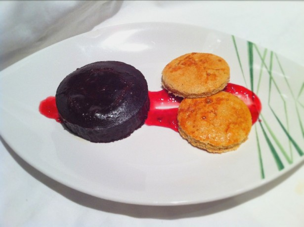 Chocolate Fondant and Bonne Maman Galettes|Fine Dining at Home