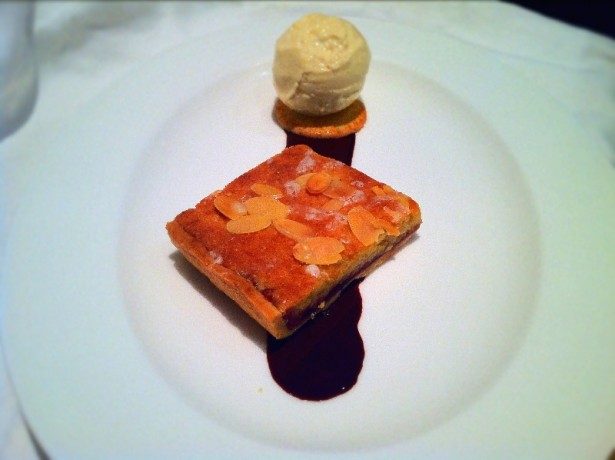 Cherry Bakewell with Almond Ice Cream|Fine Dining at Home.