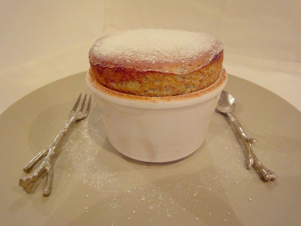 Pistachio and Chocolate Souffle  Fine DIning at Home