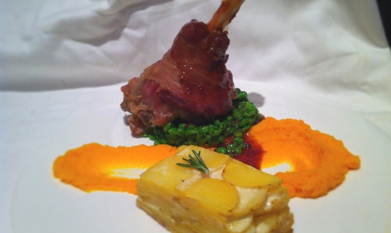Lamb Shanks With Pears And Pistachios Recipes — Dishmaps