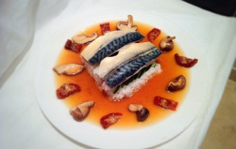 Poached Mackerel in a Japanese Umami Broth