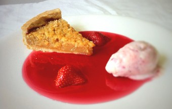 Treacle Tart and Strawberry Cheesecake Ice Cream