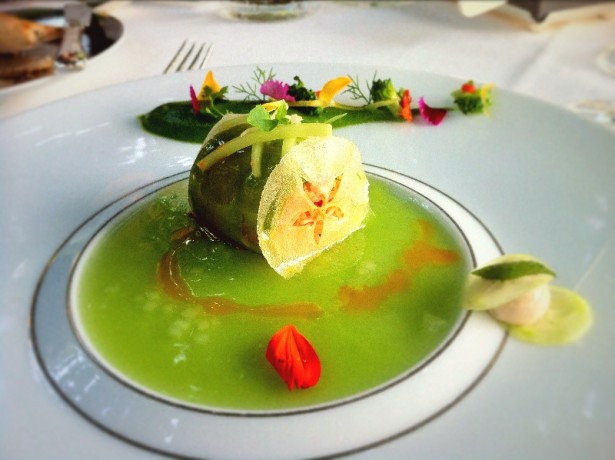 Crab and Cucumber Cannelloni