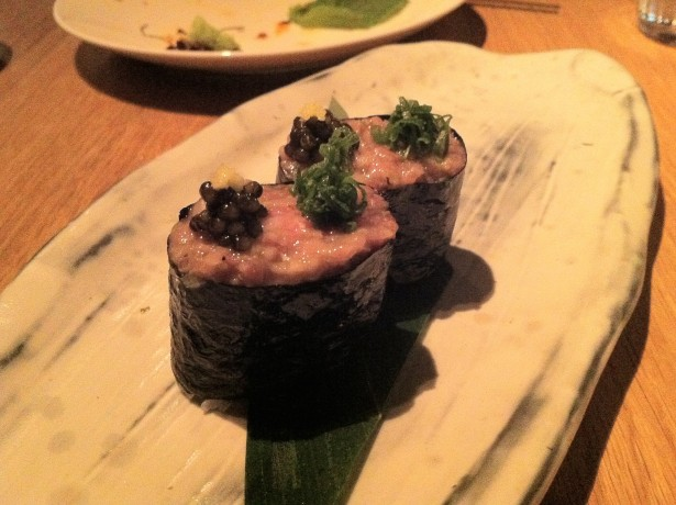 Wagyu and Caviar gunkan