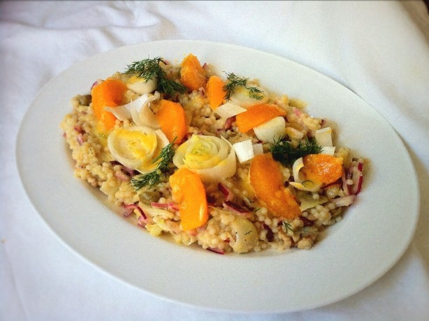 Orange Fennel And Couscous salad