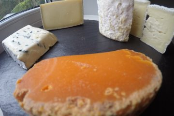 Clockwise form front, Mimolette, Montagnolo affine, Reserve Gruyere, Chaource