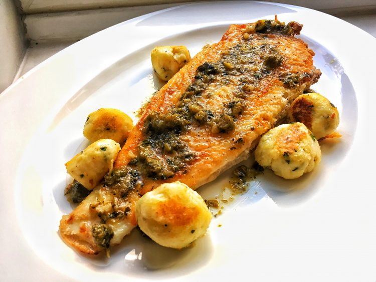 Lemon Sole and caper butter