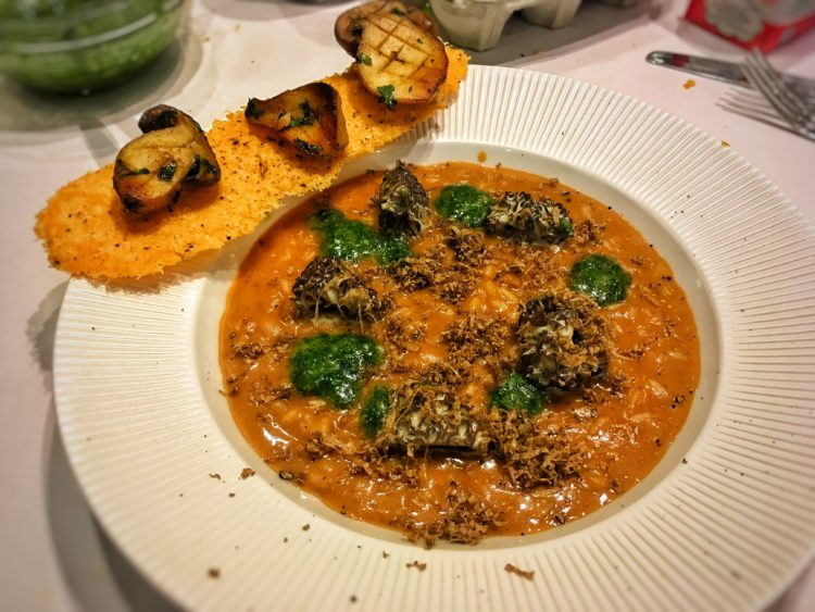 Truffle And Morel Risotto Fine Dining Recipes Food Blog Restaurant Reviews Fine Dining